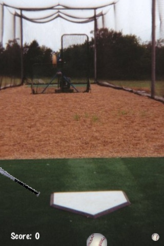 Screenshot iBattingCage