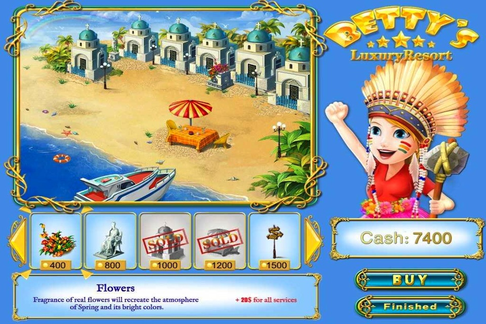 Screenshot Betty's Luxury Resort HD